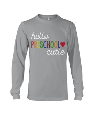HELLO PRESCHOOL CUTIE Long Sleeve Tee thumbnail