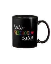 HELLO PRESCHOOL CUTIE Mug tile