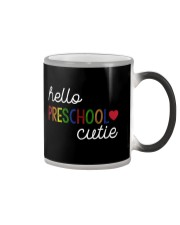 HELLO PRESCHOOL CUTIE Color Changing Mug thumbnail