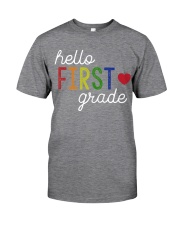 HELLO FIRST GRADE Classic T-Shirt tile