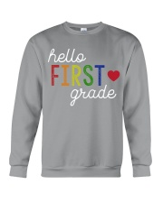 HELLO FIRST GRADE Crewneck Sweatshirt thumbnail