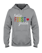 HELLO FIRST GRADE Hooded Sweatshirt thumbnail