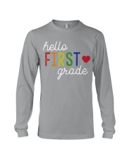 HELLO FIRST GRADE Long Sleeve Tee thumbnail