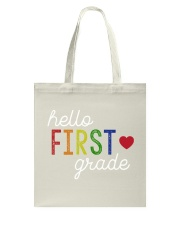 HELLO FIRST GRADE Tote Bag tile