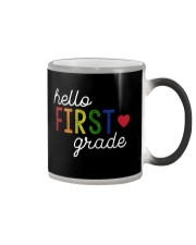 HELLO FIRST GRADE Color Changing Mug thumbnail