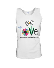 KINDERGARTEN TEACHER LIFE Unisex Tank tile