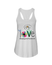 KINDERGARTEN TEACHER LIFE Ladies Flowy Tank thumbnail
