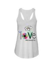 LOVE GRAMMY LIFE - ART Ladies Flowy Tank thumbnail