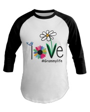 LOVE GRAMMY LIFE - ART Baseball Tee thumbnail
