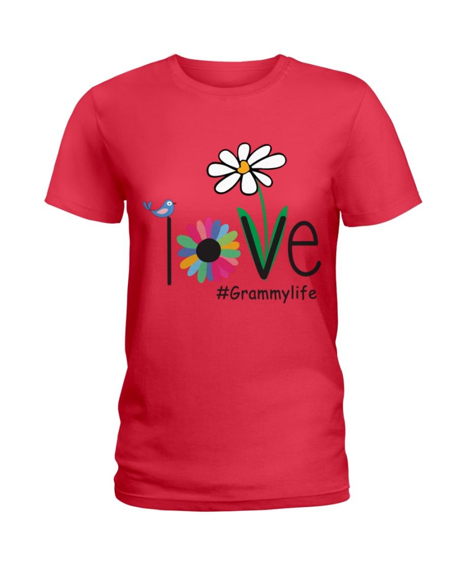 LOVE GRAMMY LIFE - ART Ladies T-Shirt