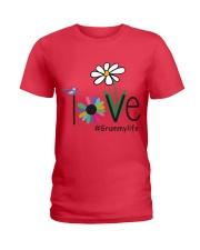 LOVE GRAMMY LIFE - ART Ladies T-Shirt front