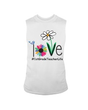 1ST GRADE TEACHER LIFE Sleeveless Tee tile