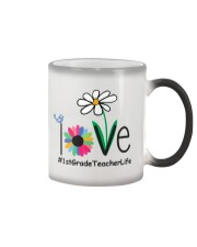 1ST GRADE TEACHER LIFE Color Changing Mug tile