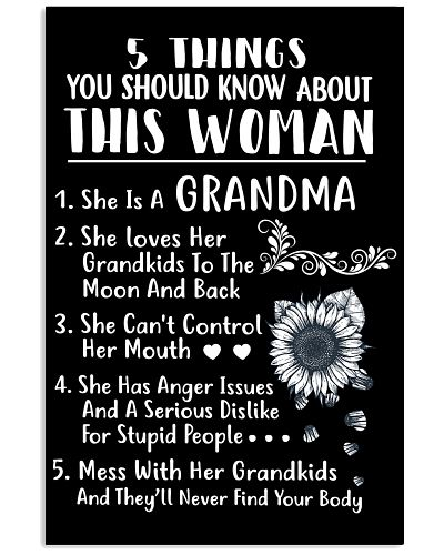 5 THINGS YOU SHOULD KNOW ABOUT THIS WOMAN