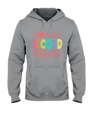 SECOND GRADERS - I LOVE YOU Hooded Sweatshirt thumbnail