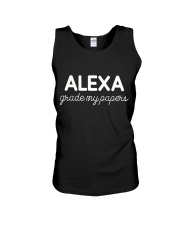 ALEXA  - GRADE MY PAPERS Unisex Tank thumbnail