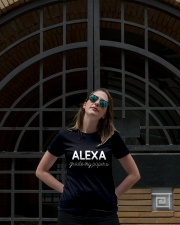 ALEXA  - GRADE MY PAPERS Ladies T-Shirt lifestyle-women-crewneck-front-1