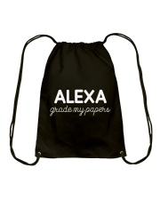 ALEXA  - GRADE MY PAPERS Drawstring Bag thumbnail