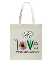 3RD GRARE TEACHER LIFE Tote Bag tile