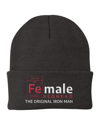 FEMALE REDHEAD - THE ORIGINAL IRON MAN