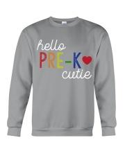 HELLO PRE-K CUTIE Crewneck Sweatshirt thumbnail