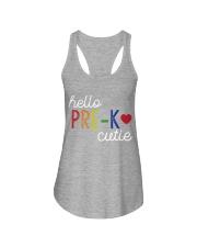 HELLO PRE-K CUTIE Ladies Flowy Tank thumbnail