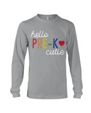 HELLO PRE-K CUTIE Long Sleeve Tee thumbnail