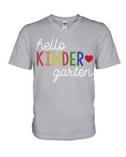 HELLO KINDER GARTEN V-Neck T-Shirt thumbnail