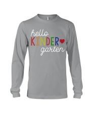 HELLO KINDER GARTEN Long Sleeve Tee thumbnail