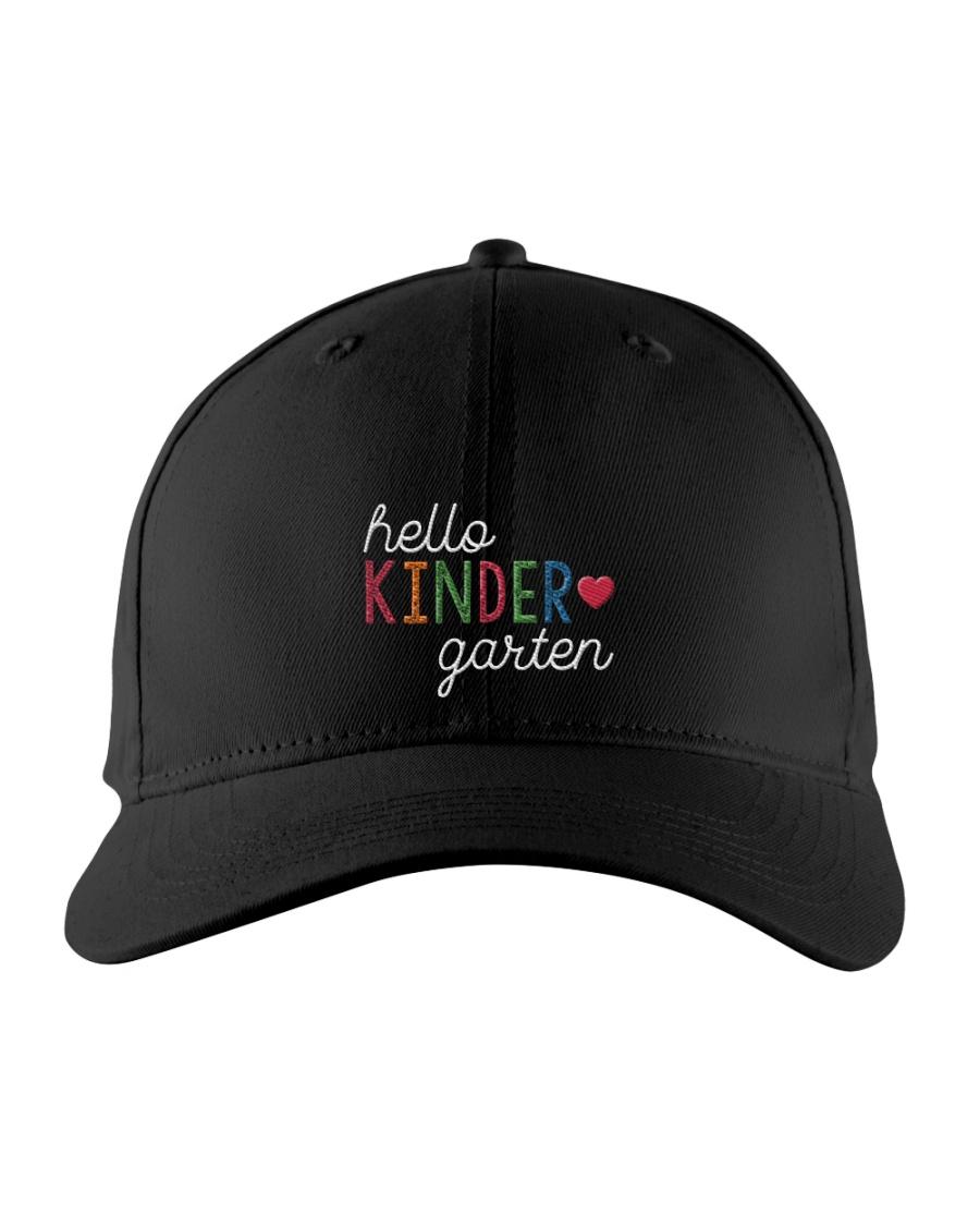 HELLO KINDER GARTEN Embroidered Hat