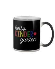 HELLO KINDER GARTEN Color Changing Mug thumbnail