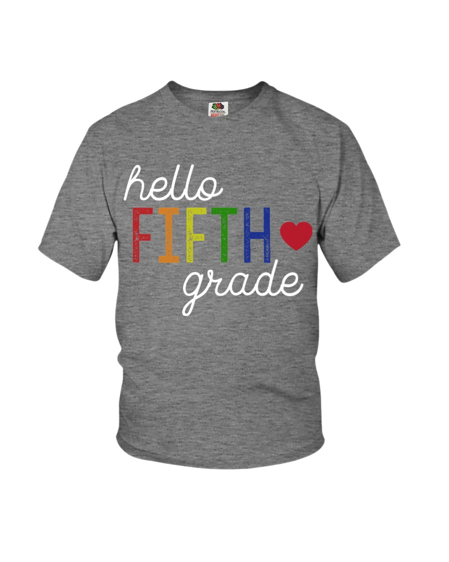 HELLO FIFTH GRADE Youth T-Shirt