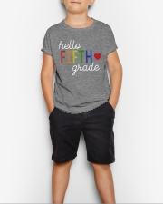 HELLO FIFTH GRADE Youth T-Shirt lifestyle-youth-tshirt-front-1