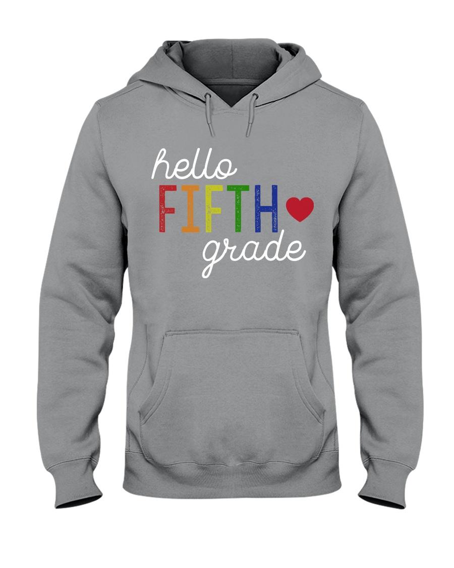 HELLO FIFTH GRADE Hooded Sweatshirt