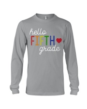 HELLO FIFTH GRADE Long Sleeve Tee tile