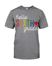 HELLO SIXTH GRADE Classic T-Shirt thumbnail