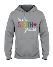 HELLO SIXTH GRADE Hooded Sweatshirt thumbnail