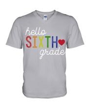 HELLO SIXTH GRADE V-Neck T-Shirt thumbnail