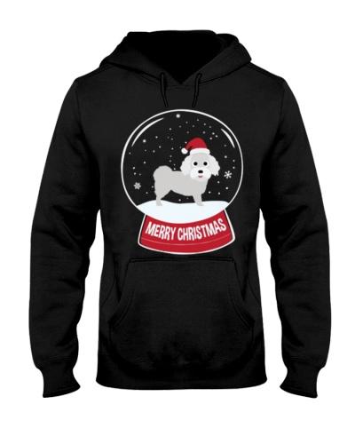 Bichon ise Merry Christmas Snowball
