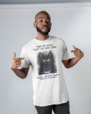 Might be crazy might just need carbs you'll never Classic T-Shirt apparel-classic-tshirt-lifestyle-front-32