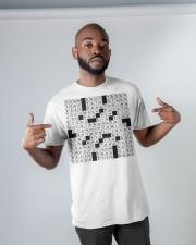 Stuffed shirt crossword clue Classic T-Shirt apparel-classic-tshirt-lifestyle-front-32