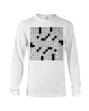 Stuffed shirt crossword clue Long Sleeve Tee thumbnail