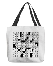 Stuffed shirt crossword clue All-over Tote thumbnail