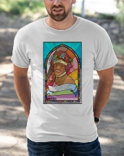 Marsha P Johnson Pride Month T-Shirt Classic T-Shirt apparel-classic-tshirt-lifestyle-front-50