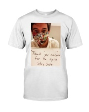Lenin Gutierrez Thank you stay safe shirt  Classic T-Shirt front