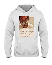Lenin Gutierrez Thank you stay safe shirt  Hooded Sweatshirt thumbnail