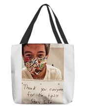 Lenin Gutierrez Thank you stay safe shirt  All-over Tote thumbnail