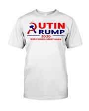 Putin Trump 2020 Make Russia Great Again Trump Classic T-Shirt front