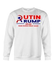 Putin Trump 2020 Make Russia Great Again Trump Crewneck Sweatshirt thumbnail