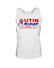 Putin Trump 2020 Make Russia Great Again Trump Unisex Tank thumbnail